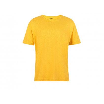 Men's Hemp T-Shirt HIRZO Marigold