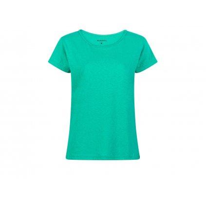 Women's Hemp T-Shirt BINKA Emerald