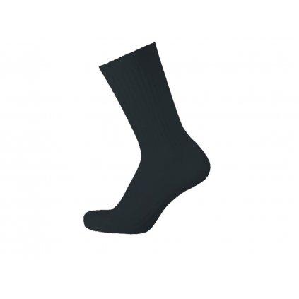 Terry Hemp Socks SUDA Black