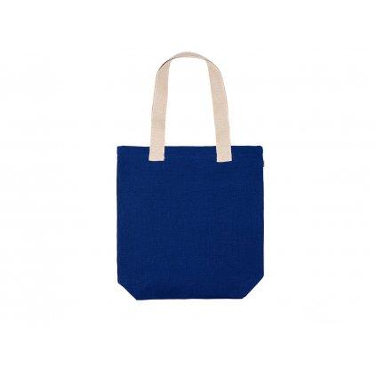 Hemp tote bag BORA Navy Blue