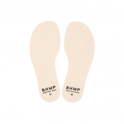 Barefoot insoles natural
