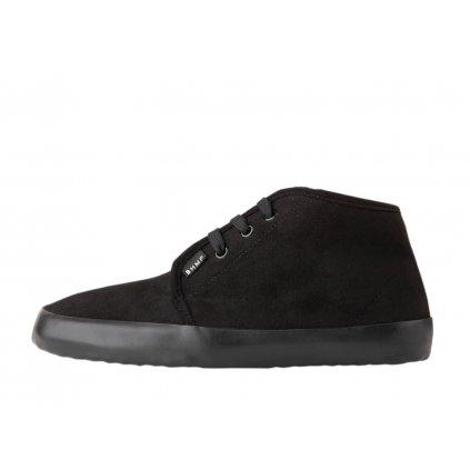 Winter vegan barefoot shoes ZAVID 2.0 Chukka Black-Black PRESALE
