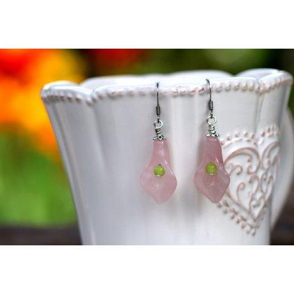 růžová kala 1