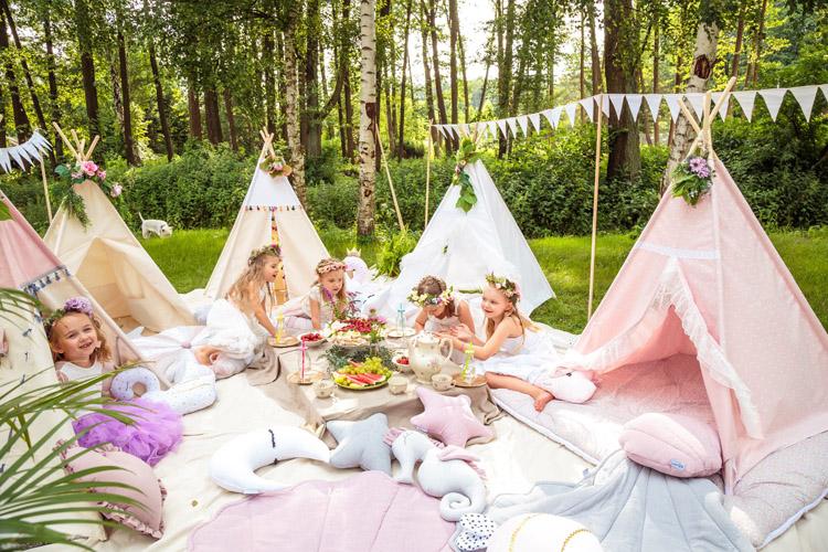 Urobte vašim deťom radosť s teepee stanom