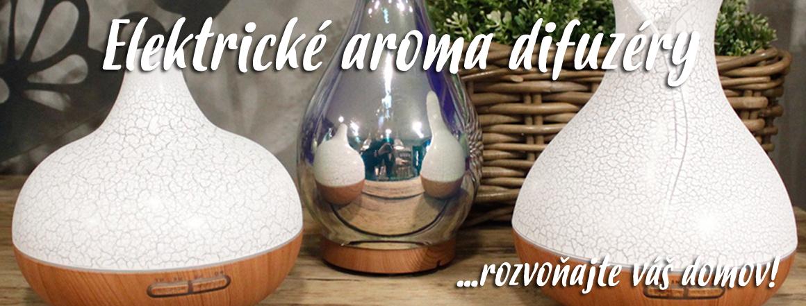Elektrické aroma difuzéry - rozvoňajte váš domov!