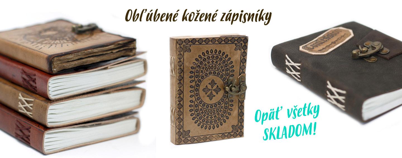 Obľúbené kožené zápisníky opäť skladom