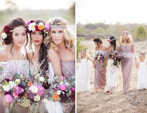 relaxed-boho-chic-beach-wedding-ideas