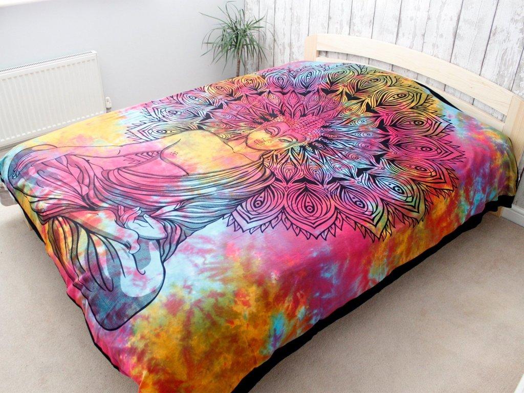 bavlnene prikryvky na postel pokojny buddha dvojlozkova3