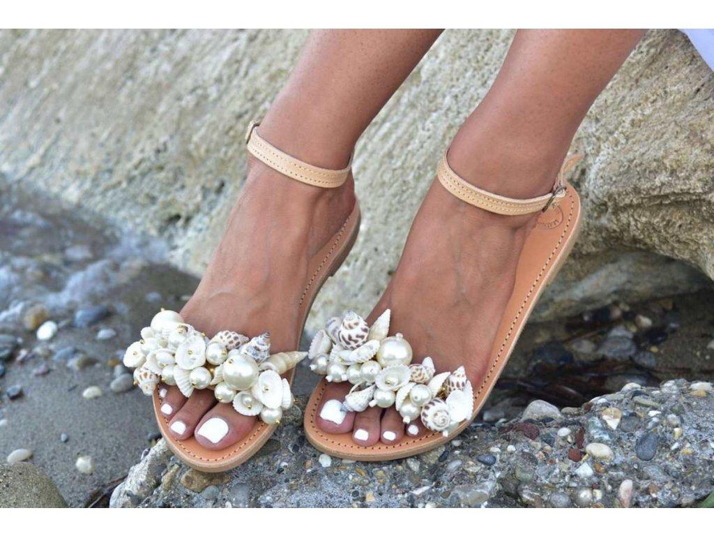 svadobne sandalky castalia