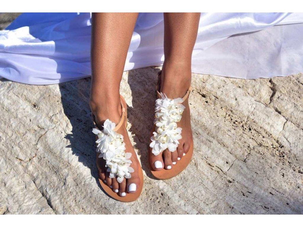 svadobne sandalky calypso