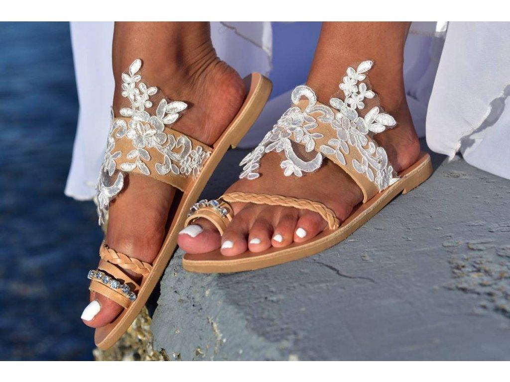 svadobne boho sandalky aganippi 88