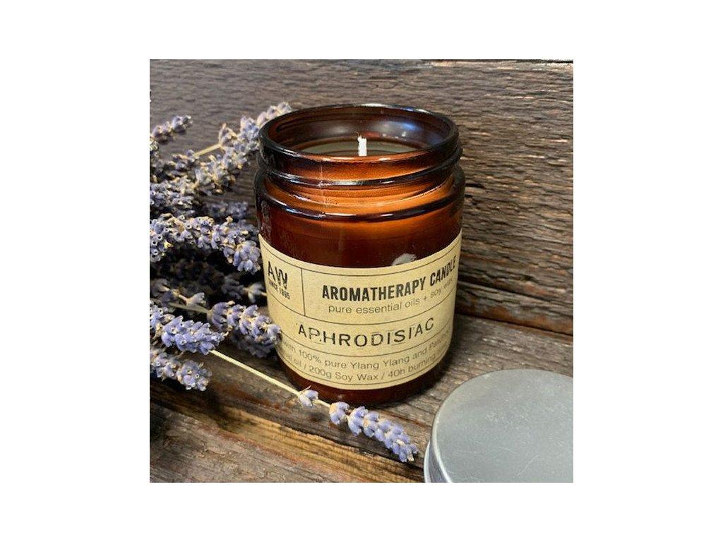 aromaterapeuticka sojova sviecka afrodiziakum