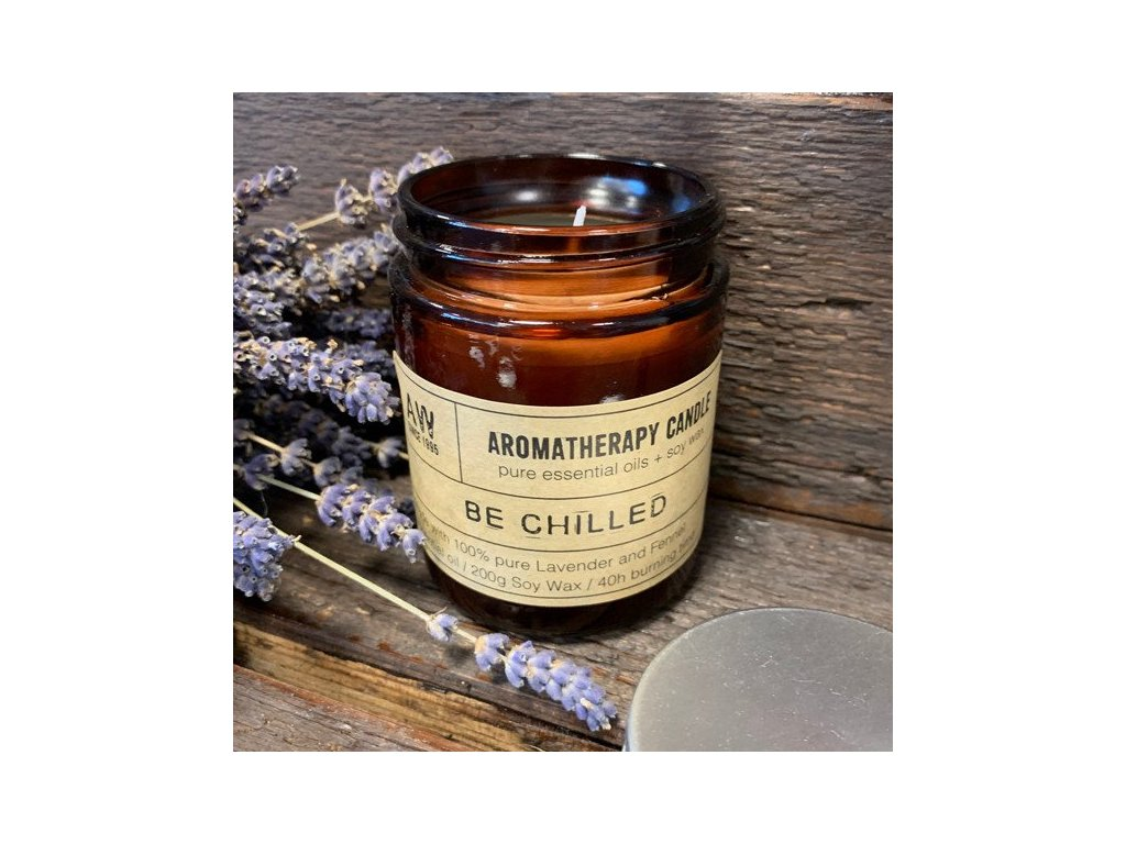 aromaterapeuticka sojova sviecka oddych
