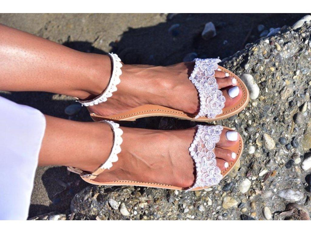 svadobne sandalky evridiki