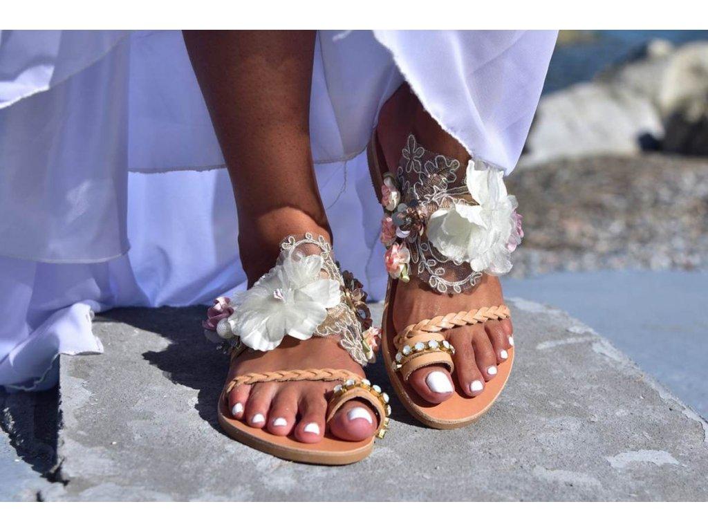 svadobne sandale callisto 10