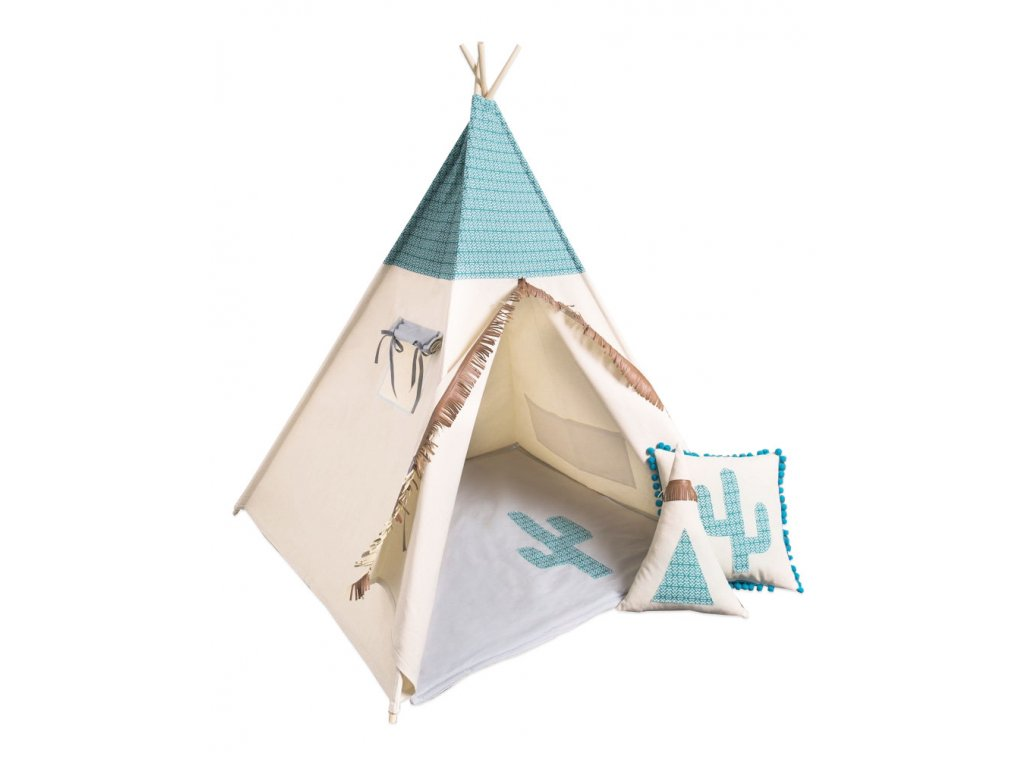 detsky teepee stan mexican
