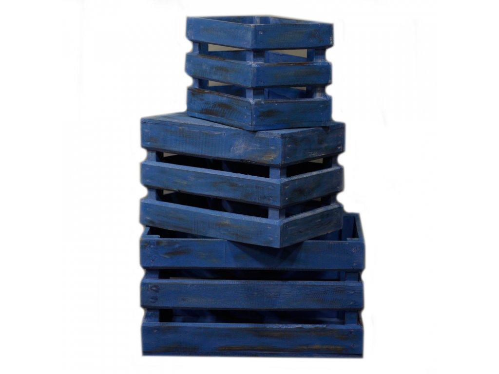 drevene bednicky dekoracne modra (2)