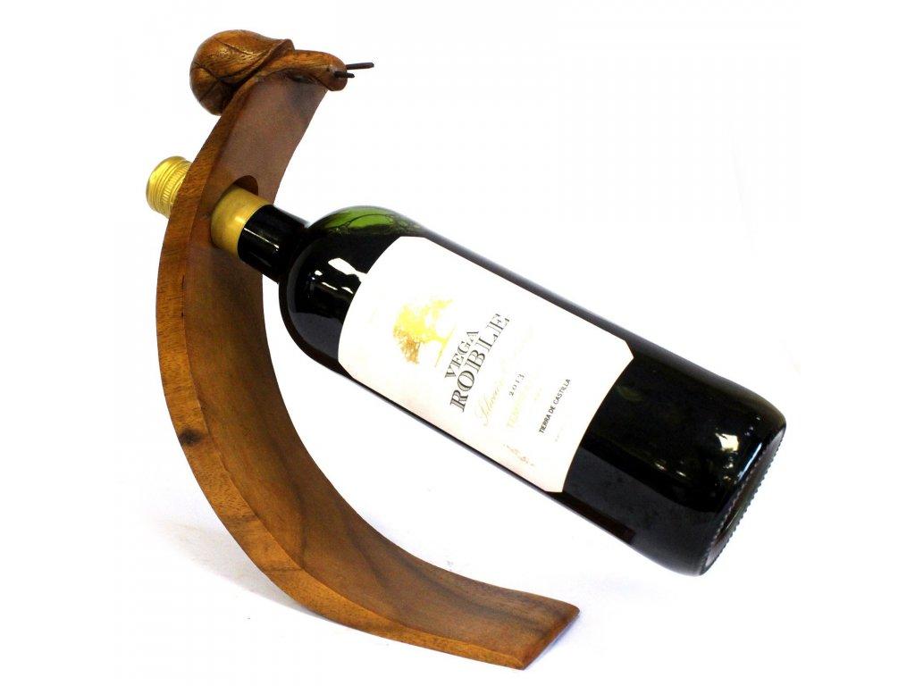 stojan na vino slimak
