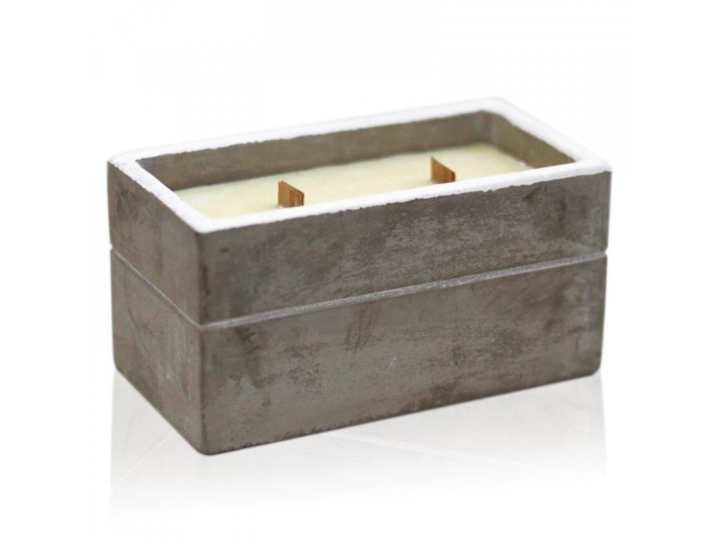 sojova sviecka betonova korenista limetka