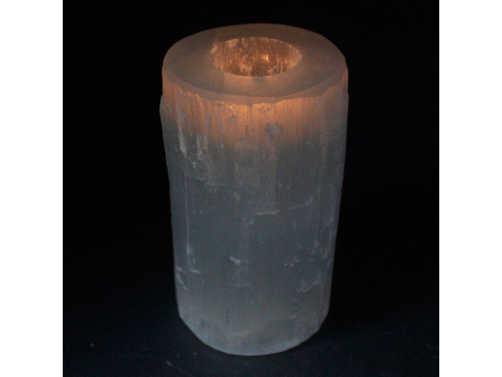 selenitovy svietnik 15cm (2)