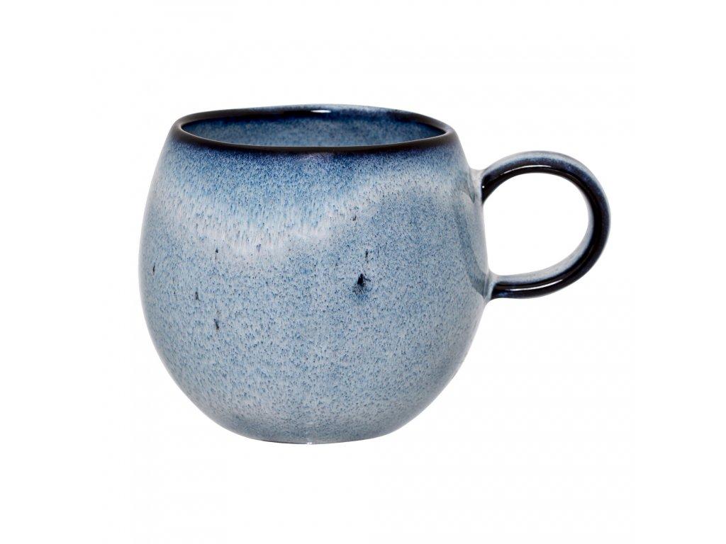 hrncek keramicky sandrine cup blue bloomingville (1)