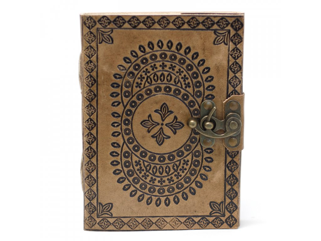 boho zápisník mandala2