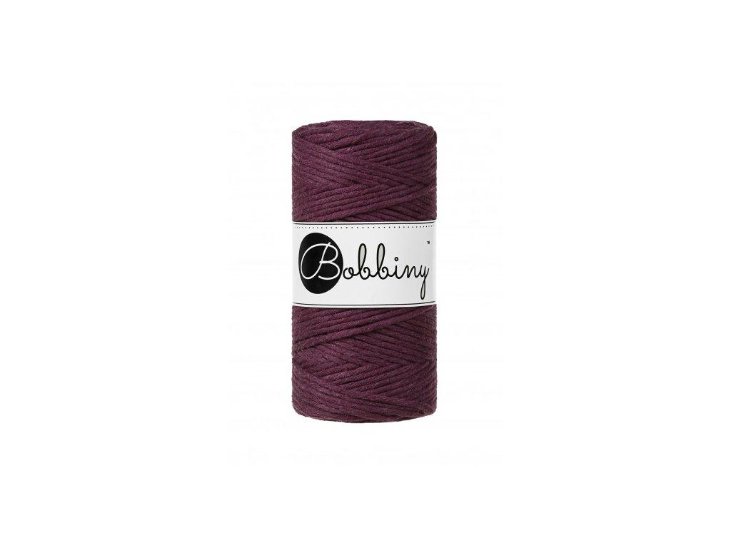 bobbiny regular cord 3 mm blackberry (1)