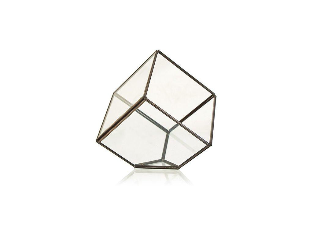 sklenene terarium kocka na rohu (2)