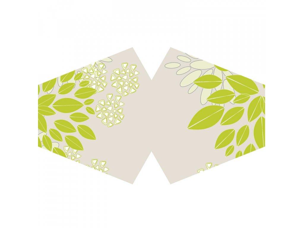 bavlnene rusko zelene listy s filtrom pm2 5 (2)