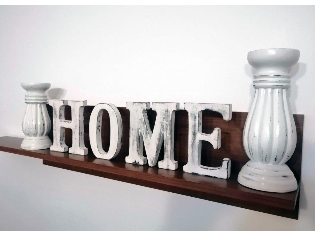 napis home dekoracie do bytu