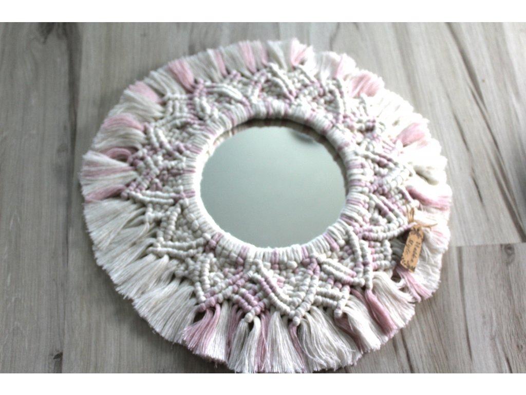 macrame zrkadlo dekoracia do boho pribytku (13)