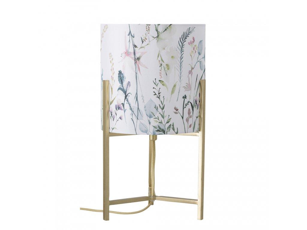 stolova lampa zlata kovova bloomingville (2)