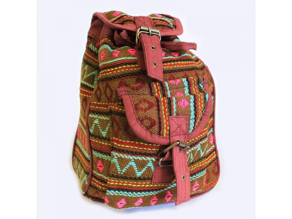 nepálsky batoh olivový