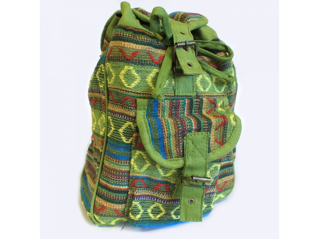 nepálsky batoh zelený