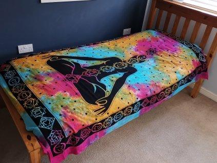 bavlnene prikryvky na postel čarka buddha jednolozkova1
