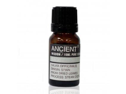esenciálny olej šálvia