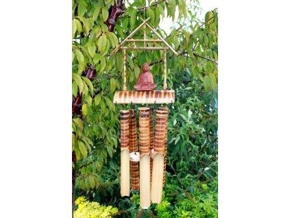 drevena zvonkohra buddha 6 strednych tub
