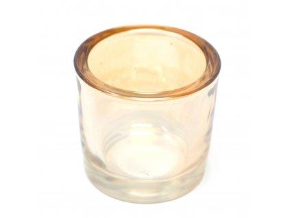 nahradna sklenena nadoba pre votivny svietnik