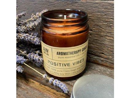 aromaterapeuticka sojova sviecka