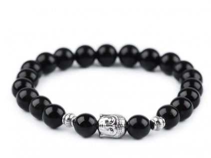 damsky naramok obsidian buddha
