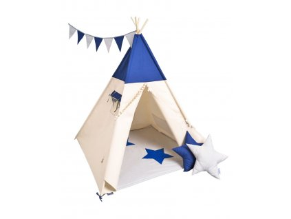 detsky teepee stan just blue