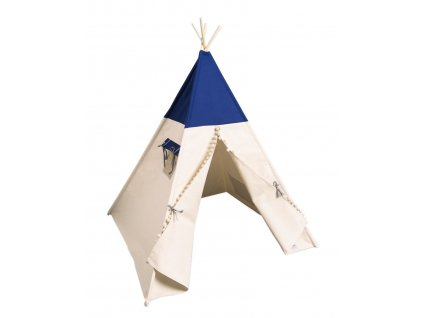 detsky teepee stan just blue stan