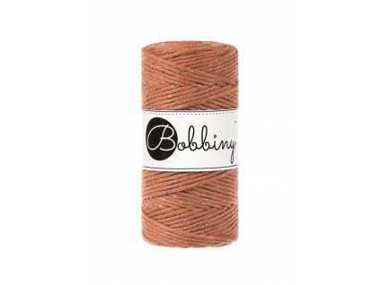 macrame spagat bobbiny golden terracotta limited edition 100m 3mm