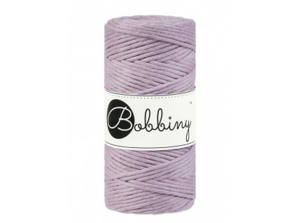 macrame spagat bobbiny dusty pink 100m 3mm