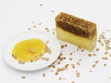 prírodné mydlo med a ovos