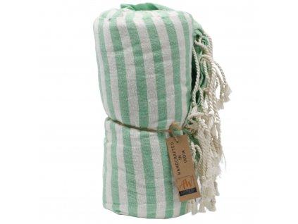 plazova deka piknik zlena (2)