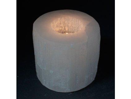 selenitovy svietnik valec 8cm (4)
