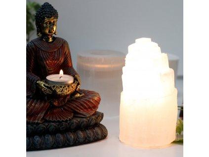 prirodna selenitova lampa 15cm (4)