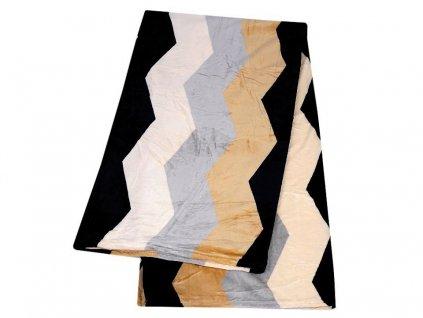 Veľká deka / prehoz fleece 200x230 cm