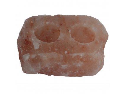 svietnik z himalajskej soli na dve cajove sviecky (1)